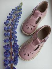 Pudros spalvos sandaliukai