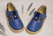 Mėlyni uždari sandaliukai