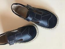 Tamsiai mėlyni  sandaliukai