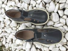 Dark grey sandalai