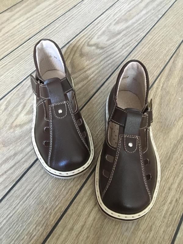 Šokoladiniai sandalai