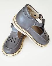 Tamsiai pilki sandaliukai
