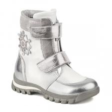 SHAGOVITA S-TEX white-silver neperšlampami žieminiai batai 27-31