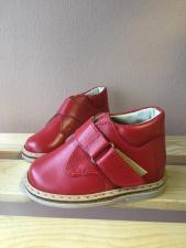 Raudoni Batukai - uždari sandaliukai