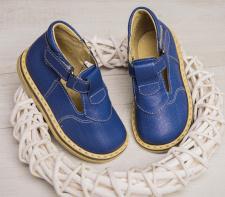 Blue sandaliukai