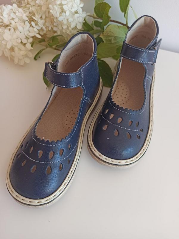 """Mėlyni sandaliukai """"lašeliai"""""""
