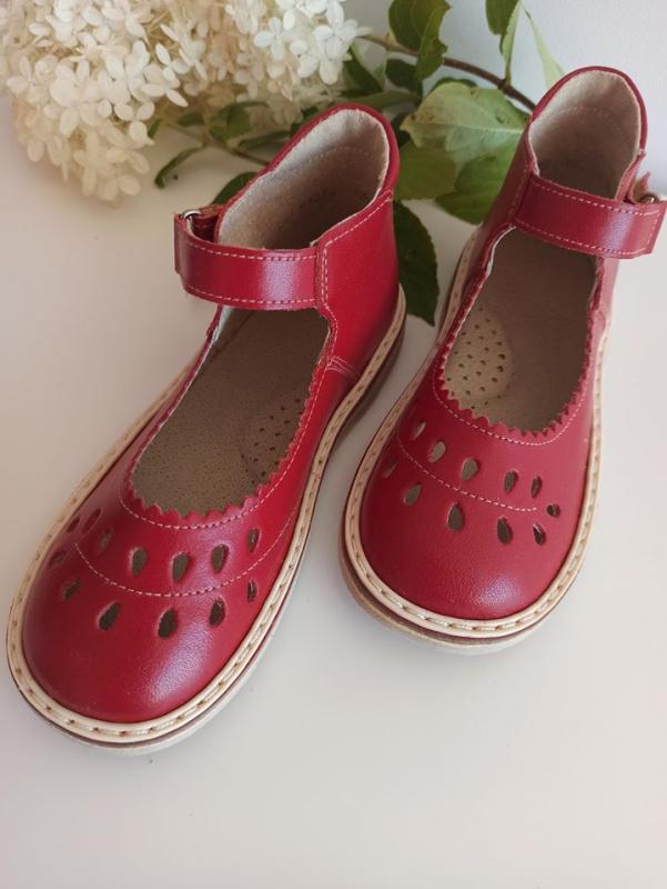 """Red sandaliukai """"lašeliai"""""""