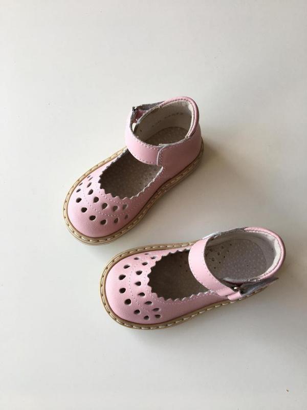 Rožiniai sandaliukai