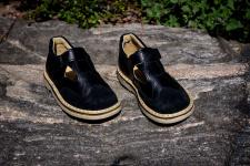 Black sandaliukai