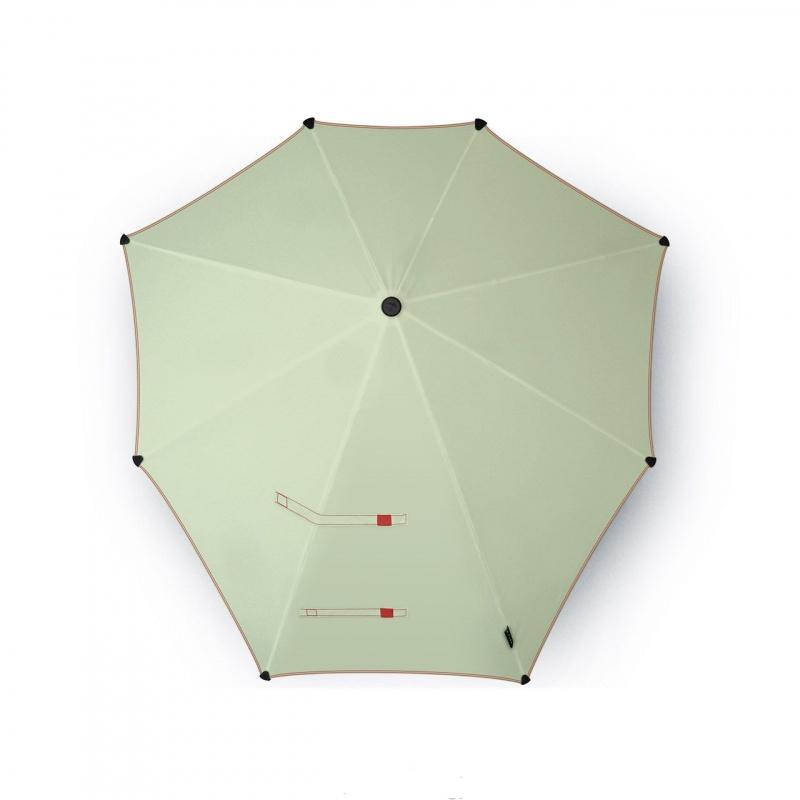 SENZ skėtis POWDER GREEN YARN