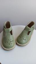 Šviesiai žali sandaliukai