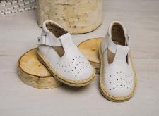 Balti šventiniai sandaliukai