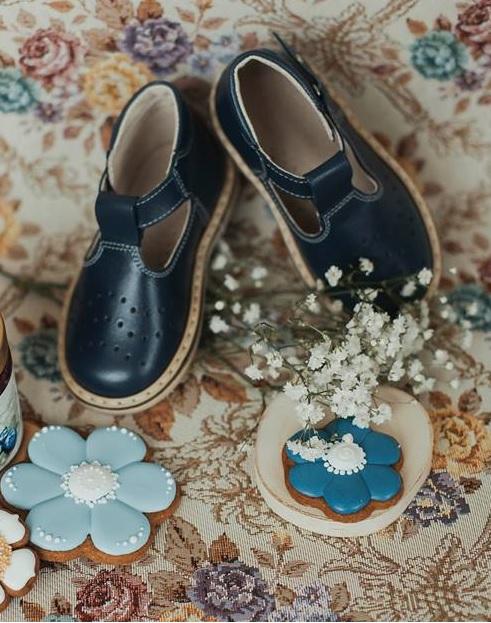 Mėlyni sandaliukai