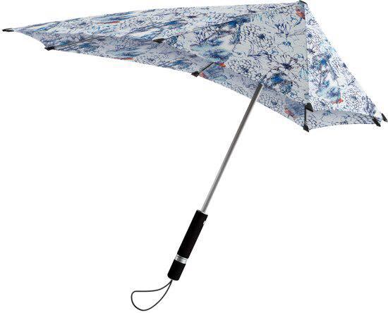 SENZ skėtis BLUE WITH PEARL EARING